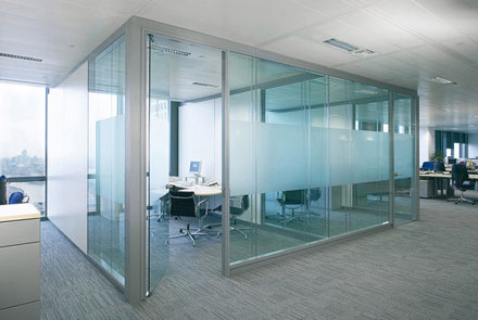 Demountable glass